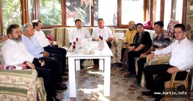 Tunç'tan Şehit Ailelerine Bayram Ziyareti