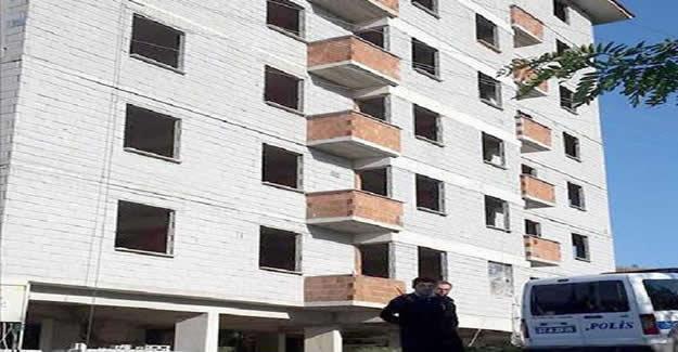 7'nci kattan düşen inşaat işçisi öldü