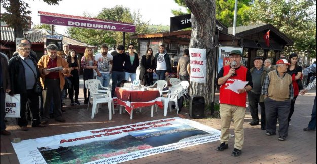 Amasra'da Madde 80 Protestosu