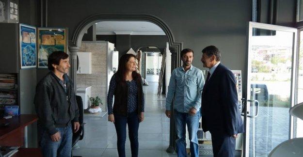 Başkan'dan Esnaf Ziyareti