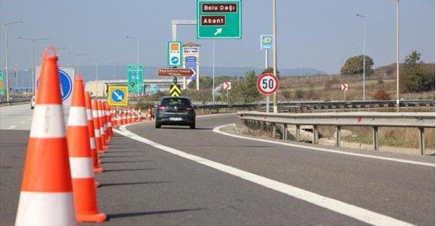 Bolu Dağı Tüneli İstanbul yönü 14 gün ulaşıma kapatıldı