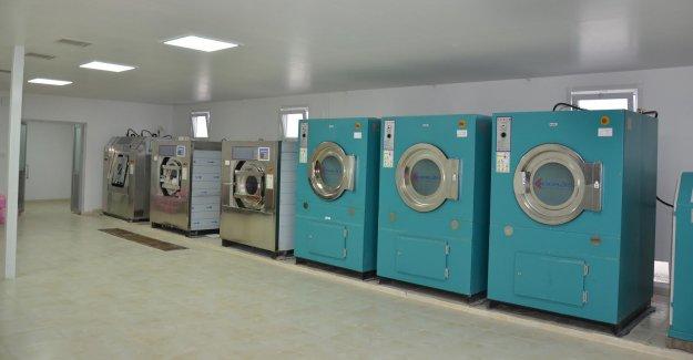 Hastaneye Modern Çamaşırhane