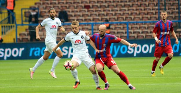 Kardemir Karabükpor-Medipol Başakşehir: 0-2