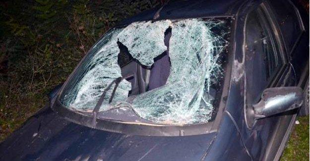 Kızının kına gecesinde otomobil çarpması sonucu öldü