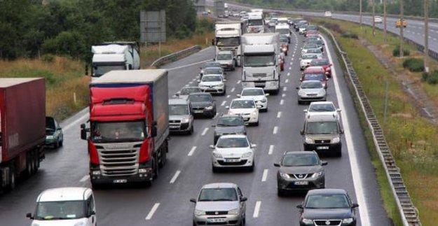 TEM'in Ankara yönü 26 gün ulaşıma kapatılacak