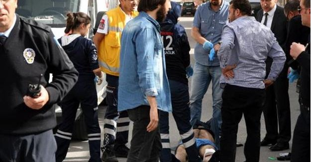 Terörist zannedilen silahlı hırsız vurularak yakalandı