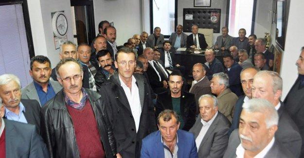 Tunç'tan Muhtarlara Ziyaret