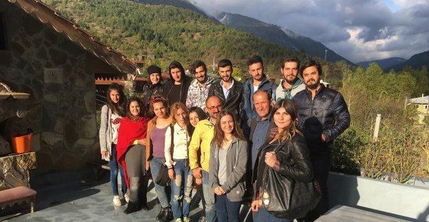 Üniversite Öğrencilerinden Drahna'ya Teknik Gezi