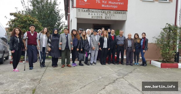 Bartın Üniversitesi Öğrencilerinden Anlamlı Ziyaret