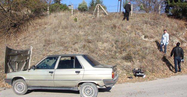 Çalınan otomobil terk edilmiş bulundu