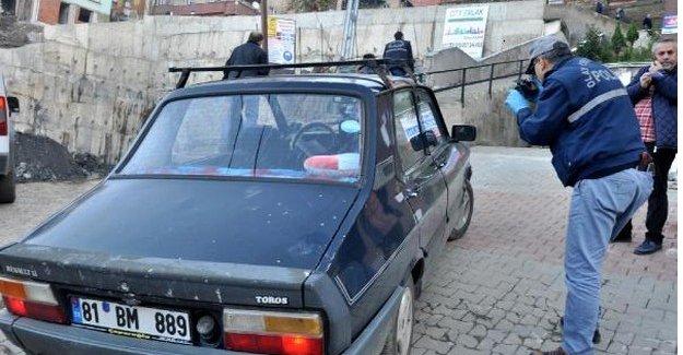 Çalınan otomobil terkedilmiş halde bulundu