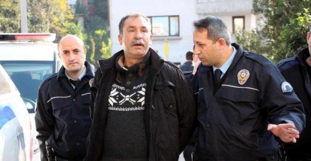 Hastanede firar eden mahkum 1 kilometre sonra yakalandı