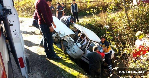Köprü üzerinde feci kaza: 4 yaralı