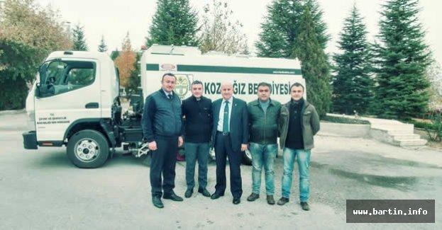 Kozcağız Belediyesi Araç Filosuna Takviye Yaptı