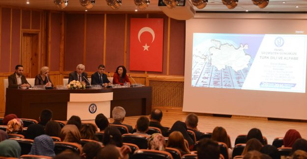 Türk Dilinin Dünü Bugünü Konuşuldu