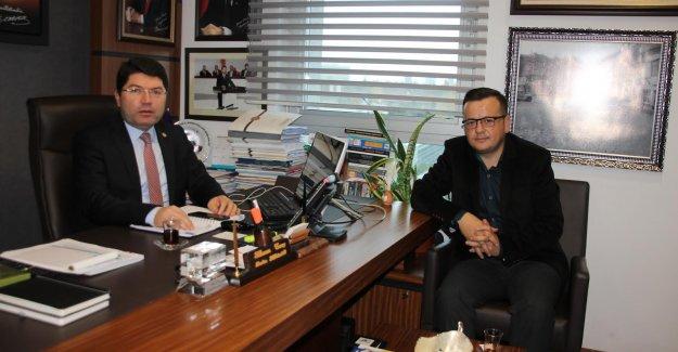 Amasra İlçe Milli Eğitim Müdüründen Tunç'a Ziyaret