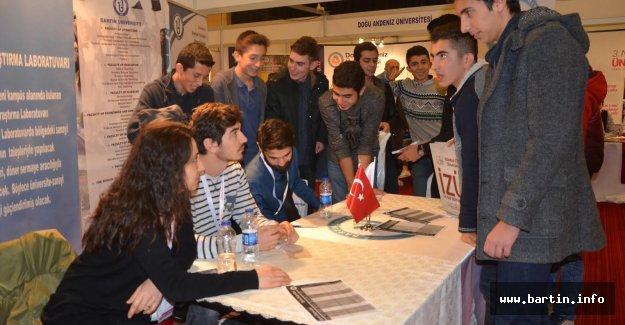 Bartın Üniversitesi Ankara'daki 101 Liseye Tanıtıldı
