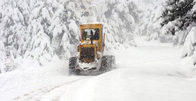 Batı Karadeniz'de Kar Alarmı