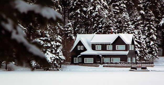 Gölcük'te eşsiz kar manzarası