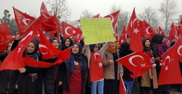 İmam Hatip öğrencilerinden terör protestosu