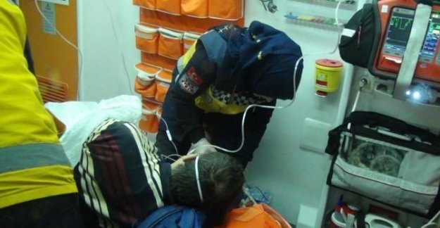 Kamyon şoförü silahlı saldırıda yaralandı