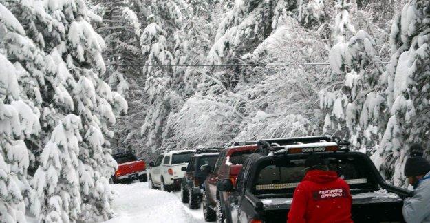 Karda Off-Road heyecanı