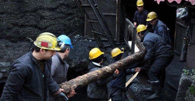 Madencinin dileği kazasız emekli olabilmek
