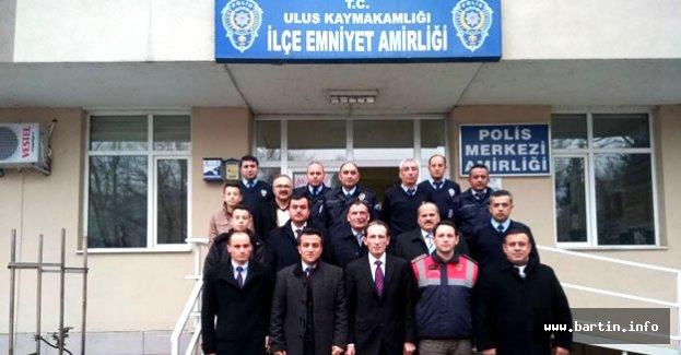 Öğrencilerden Polis Merkezine Destek Ziyareti