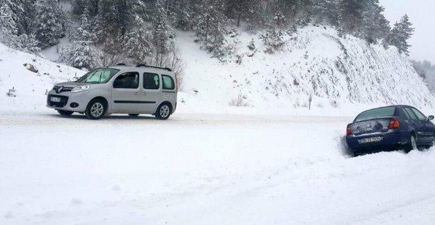 Taşımalı eğitime kar engeli