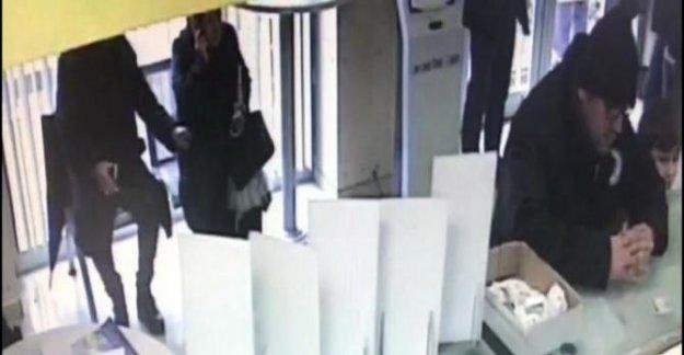 Yaşlı kadının emekli aylığını çalan hırsız yakalandı