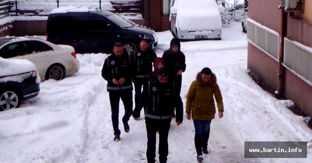 Bartın'daki FETÖ Operasyonunda 3 Tutuklama