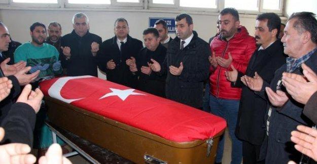 Maden işçisinin cenazesi ailesine teslim edildi