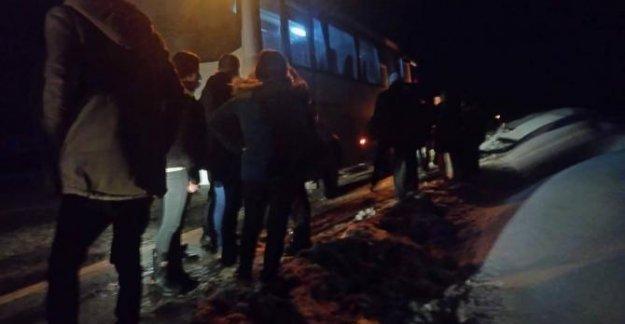 Midibüste, çantamda bomba var diyen yolcu gözaltına alındı