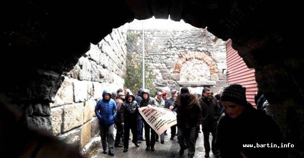 Tarihi Amasra kalesinden tarihi çağrı
