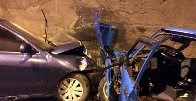Tünelde Kaza: 3 Yaralı