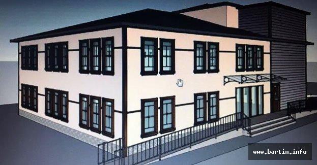 Amasra anaokulu inşaatı devam ediyor