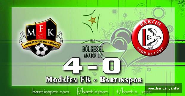 Bartınspor Dağıldı: 4-0