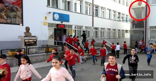 İnönü İlkokulu'nda Haraketli Dakikalar