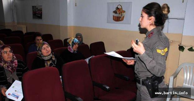 Jandarma'dan Kadın ve Çocuklara Seminer