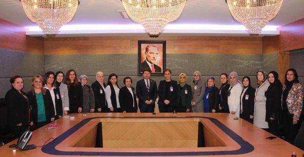 Kadın Kollarından Tunç'a Ziyaret