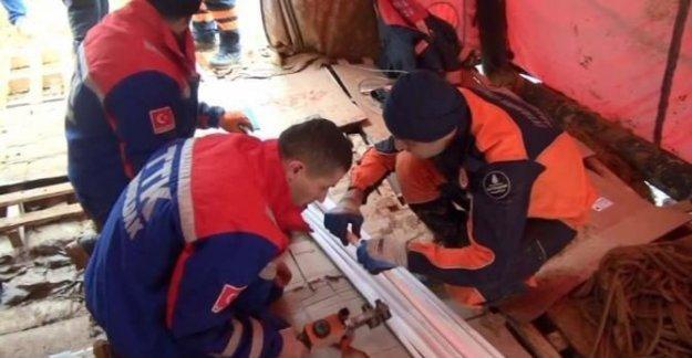 TTK Ekibi Yavru Köpeği Kurtarmak için İstanbul'da