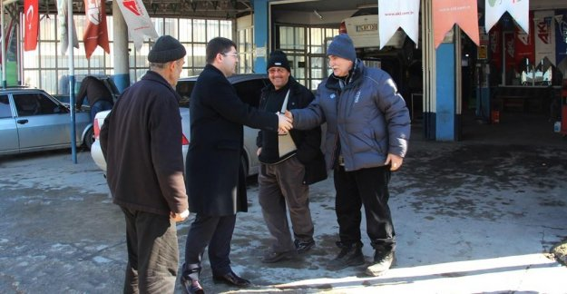 Tunç'tan Sanayi Esnafına Ziyaret