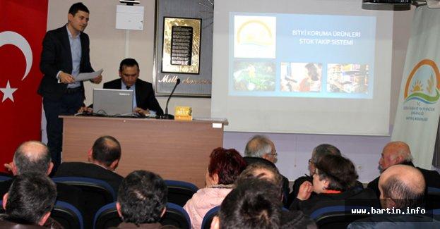Zirai Mücadele Eğitim Toplantısı