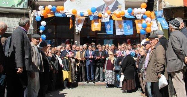 Abdipaşa Seçim İrtibat Bürosu Açıldı