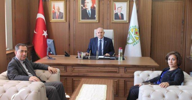 Bayram'dan Başkan Karaman'a Ziyaret