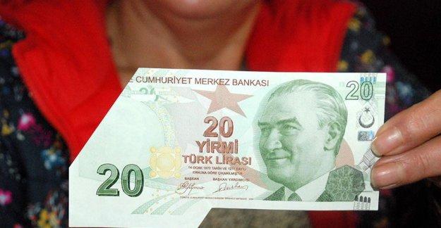 Gitti 20 Liram derken...