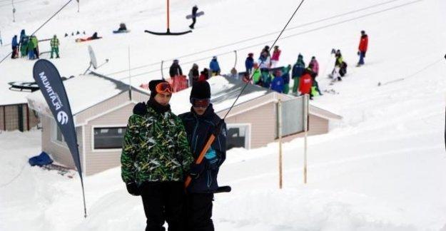 Kartalkaya'da kayak sezonu erken kapandı