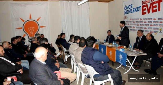 Tunç Amasra'da Cumhurbaşkanlığı Sistemi Anlattı