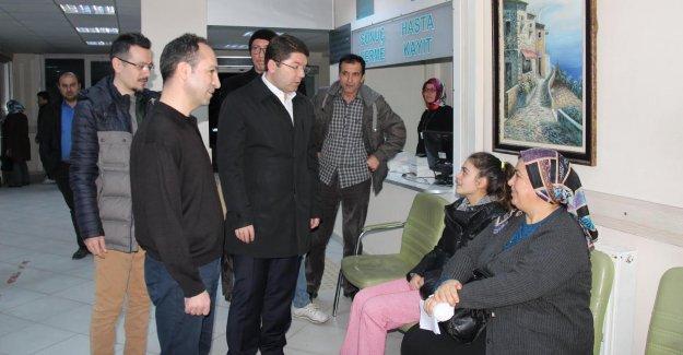 Tunç'tan Hastane Ziyareti