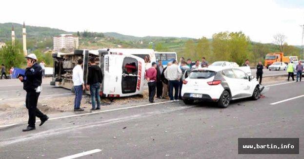 Bartın'da Feci Kaza: 8 Yaralı
